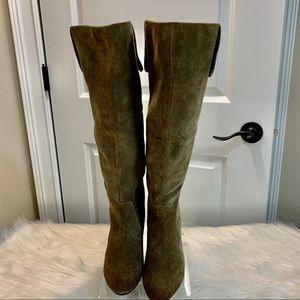 Nicole Paris Tall Knee Paris Boots Size 8